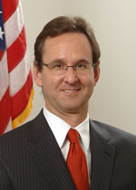 A photograph of Principal Deputy Administrator Henry Claypool.