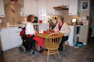 accessible kitchen table