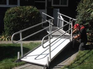 Charmant ... From A Grant Received In September 2016 By The Disability Action Center  NW That Allows For The Installation Of Modular Wheelchair Ramps At  Residences At ...